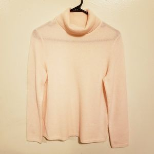 Charter Club 100% Cashmere turtleneck sweater Med.
